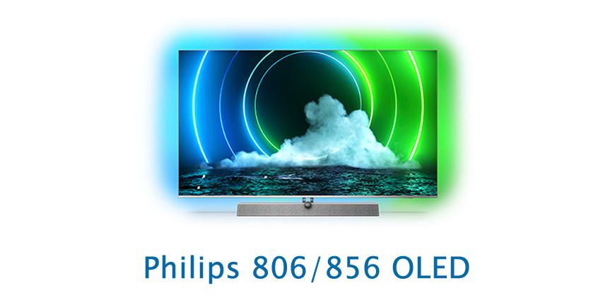 Vlajkové lodě letošního roku - Philips OLED 806 a 856