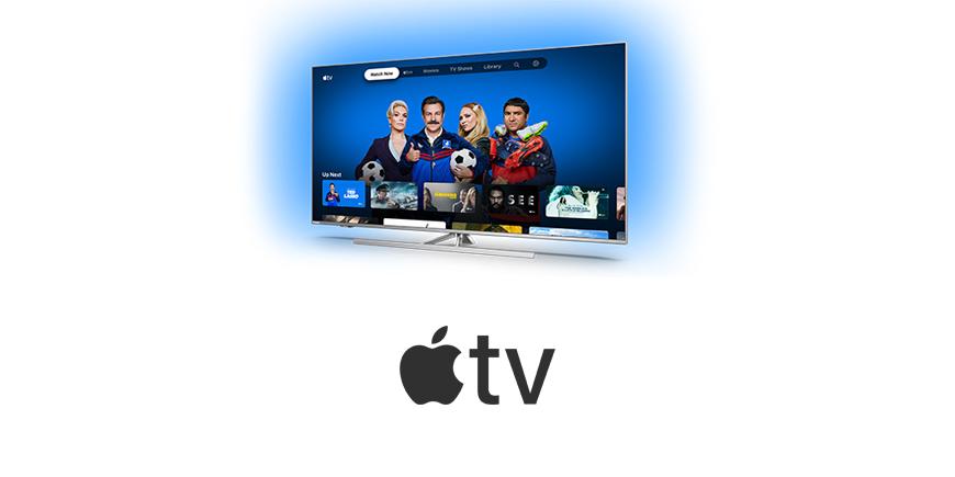 Aplikace Apple TV pro televizory Philips se systémem Android